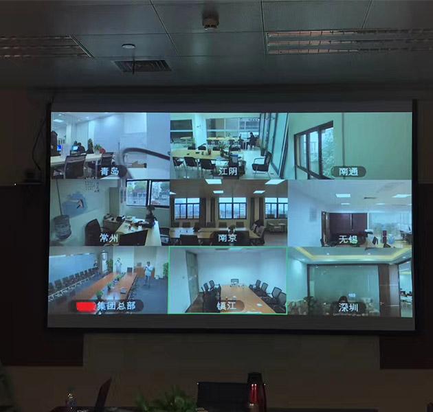 某公司多方软件视频会议系统项目