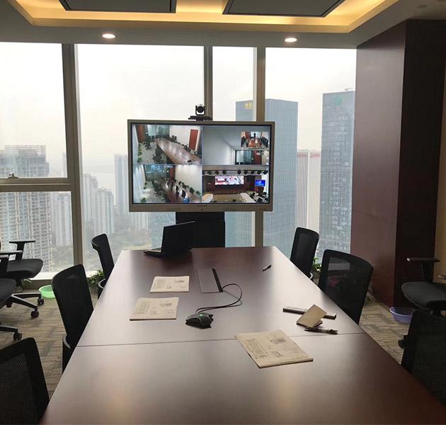 某集团使用国产硬件视频会议系统项目