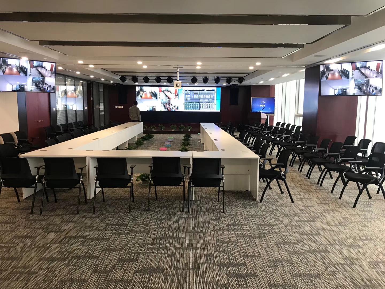大型会议室的视频会议系统项目应用